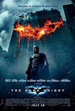 Batman THE  DARK KNIGHT / ORIGINAL ONE-SHEET A  MOVIE POSTER (CHRISTIAN BALE)