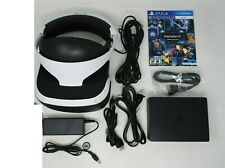 Sony PlayStation VR PS4 Virtual Reality Headset W/Game in great shape