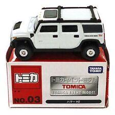 Tomy Tomica Event Model No.3 GM Hummer H2 Ehite Rare 1 : 67