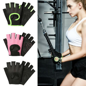 Workout Gloves for Women Breathable Half Finger Sports Training Fitness Cycling