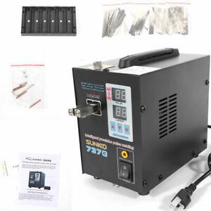 Hand-held Pulse Spot Welder Welding Machine fits 18650 Battery Pack SUNKKO 737G