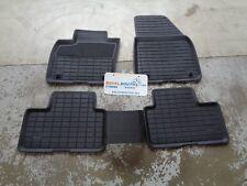 Genuine Volvo XC40 Black All Weather Thermoplastic Floor Mats OEM 31470948