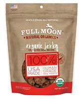 Full Moon Organic Dog Treats Human Grade Beef Jerky 14 Ounce
