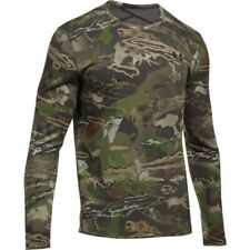 Under Armour Mid Season Reversible Wool Base Forest Camo Size Large 1297423-943
