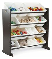 Kids Toy Storage Organizer With Bins Playroom And Bedroom Container Box Shelf
