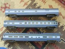 American Models three streamline passenger cars (11/19/20) hirail kd
