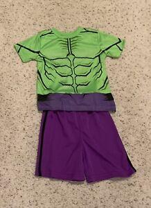 "Marvel ""Hulk"" Shirt And Shorts Set, Boys Size 4"