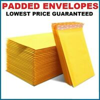 50 x GOLD WHITE BUBBLE PADDED ENVELOPES MAILERS BAGS ( EP10 - 350mm x 470mm )