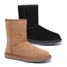 【SALE】 UGG Classic Short 3/4 Boots Unisex Water Resistant Australian Sheepskin