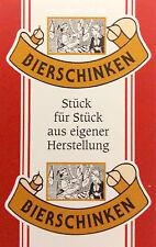Kunstdarm, Kaliber 55/21, für Bierschinken, mit Druck, 25 Stück