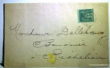 Sage  sur lettre oblitération   RICHELIEU    -  201ca112