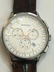 Movado Men's Watch Circa Chronograph 606576