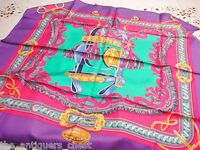 """Hermes Paris 2015 """"Bride de Cour"""" scarf 34"""" side. new in box"""