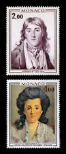 Monaco - Scott 1035-1036 - 1976 Princes Of Monaco - Mnh