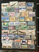 Thematics aircraft stamps