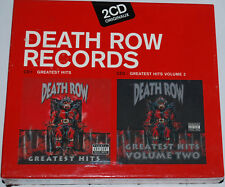 COFFRET 2 CD DEATH ROW RECORDS GREATEST HITS neuf sous blister