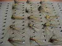 !OFERTA! 15 pardones realizados con pluma de León. C/M. FLY FISHING (53A)