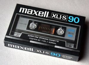Maxell XLI-S 90 of 1985. Neu, OVP.