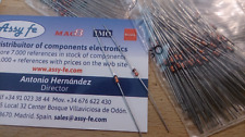 50 pcx x Z18M DIODE ZENER 18V  DIODE 18VOLTIOS  AXIAL