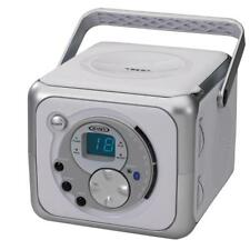 Personal cd players without bundle listing ebay jensen cd 555a portable bluetooth music system with fm radio and cd in silver publicscrutiny Image collections