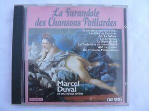 LA FARANDOLE DES CHANSONS PAILLARDES PAR MARCEL DUVAL
