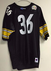 Vintage Pittsburgh Steelers Jerome Bettis Champion Jersey Men's 48 NFL 90's