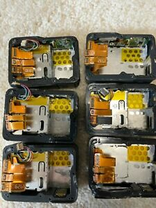 6x lot GoPro Hero 5/6/7 Rear LCD Screen Repair Touch Screen with Back Case Frame
