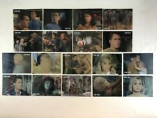 STAR TREK TOS 40th ANNIVERSARY 3 Complete CAGE IN MOTION Chase Card Set #L1-#L18
