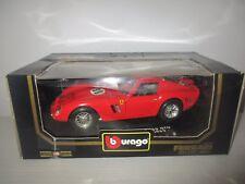 FERRARI 250 GTO 1962 COD.3011 BURAGO SCALA 1:18