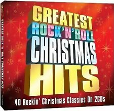 GREATEST ROCK ' N ' ROLL CHRISTMAS HITS VARIOUS ARTISTS BRAND NEW & SEALED