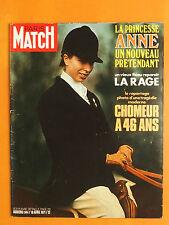 Paris Match N° 1144 du 10/04/1971-Princesse Anne-Un vieux fléau reparait,la rage