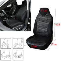 Durable Car Front Seat Cover Sport Styling Cushion PU Leather Protector Interior