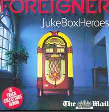 FOREIGNER: JUKE BOX HEROES: LIVE - UK PROMO CD ALBUM: COLD AS ICE, URGENT ETC