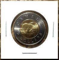 Canada 1998 *Scarce* Toonie Brilliant UNC BU From Mint Roll!!