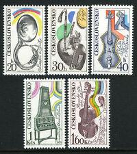 Czechoslovakia 1939-1943,MNH.Music Festivals.Slovak Philharmonic Orchestra,1974
