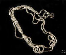 .925 Silver Link Chain Necklace 20 inch or 24 inch