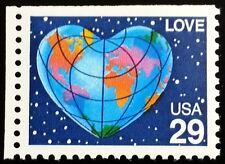 1991 29c Love, Booklet Single Scott 2536 Mint F/VF NH