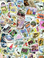 300 POSTAGE STAMPS FROM THE CONGO - NO DUPLICATES -  $150.00 VALUE!