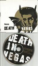 DEATH IN VEGAS Rocco w/ 3 UNRELEASED TRX Europe CD Single USA seller 1997