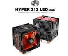 Cooler Master Hyper 212 LED Turbo RED CPU Air Cooler 120mm PWM Fan 4-Copper Pipe
