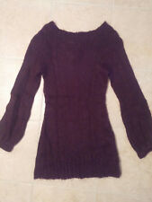 H&M GORGEOUS PURPLE Sweater Dress / Tunic ~ Size X-Small (XS) ~ EUC!