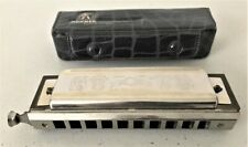 Vintage M. Hohner Chromonica Harmonica Made in Germany Model 260 w/Original Case