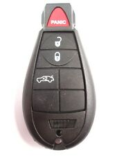 Replacement 4 button case for Chrysler Jeep Dodge remote fob