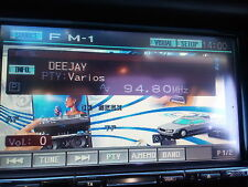 "Alpine IVA w200ri doppel din Autoradio Optical Ausgang CD Mp3 6,5"" Rds Fm Dvd"