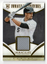 MARCUS SEMIEN MLB 2014 IMMACULATE COLLECTION SWATCHES ( WHITE SOX,ATHLETICS)