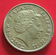 New Zealand 2 dollars 2002