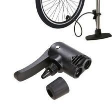 2X Bicycle Pumps Cycling Tyre Tube Replacement Presta Dual Head Air Pump Adapter