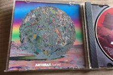 ANTHRAX Fueled ULTRA RARE 1 TRK USA 1995 PROMO CD Single Metallica Slayer Mod