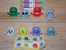 EMOJOY  Emoji Kinder Joy D 2018 Komplettsatz SE794-SE794G mit allen  BPZ