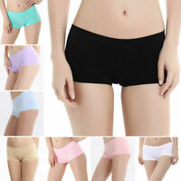 Women Casual Sports Breathable Boyshort Seamless Underwear Boxers Panties Hot